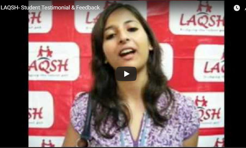 LAQSH- Student Testimonial & Feedback