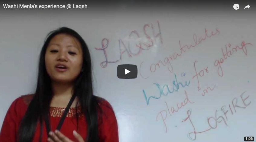 Washi Menla's experience @ Laqsh